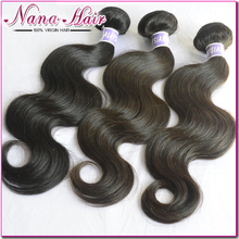 35% Off Malaysain virgin hair body wave 3pcs unprocessed human hair weave bundle natural black hair malaysian body wave