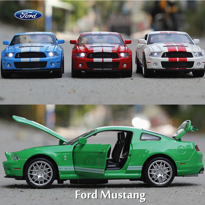 NEW hot 1:32 Ford Mustang Toys Car Classic Alloy Antique Car Model collectors Christmas gift doll(China (Mainland))