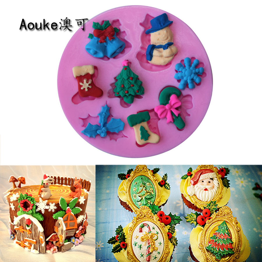 Cake Decorating Bell Moulds