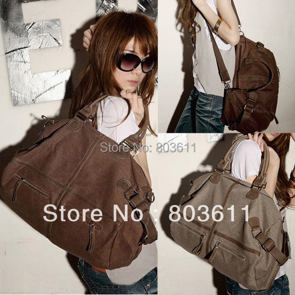 Fashioon Korean Style Womens Vintage Canvas bag Messenger Shoulder School Travel Bags 2015 - Cheap Gadagets Mall store