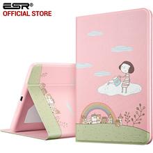 Case for iPad mini 1 2 3, ESR PU Leather Folio Case Stand with Fashion Cute Cartoon Design and Smart Case for iPad mini 1 2 3(China (Mainland))