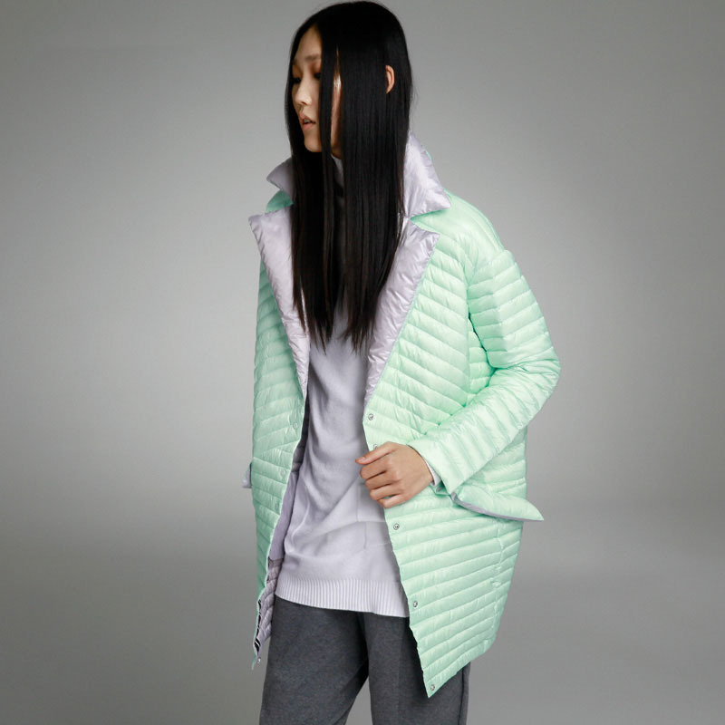 Fasicat Fashion Super Warm Down Coats Winter Womens Autumn &amp; Winter Coat And Jacket Color Patch Female Outerwear Jackets 180149Одежда и ак�е��уары<br><br><br>Aliexpress