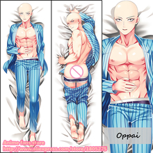 Cool Anime One Punch-man Oppai Male BL Japanese Pillowcase Pillow Case Cover decorative Hugging Body - fans store