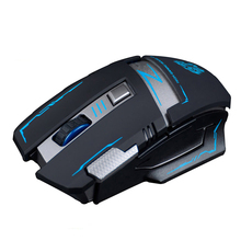 Buy V5 2.4GHz Wireless Rechargeable Silent Mute Optical Usb Gaming Mouse Mice 2400DPI Ergonomic Gamer Mouse PC Laptop Computer for $9.81 in AliExpress store