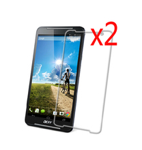 """Buy 2x Clear Films +2x Cloth, Retail Package LCD Screen Protector Protective Film Guards Acer Iconia Talk S A1-724 A1 724 7"""" for $4.33 in AliExpress store"""