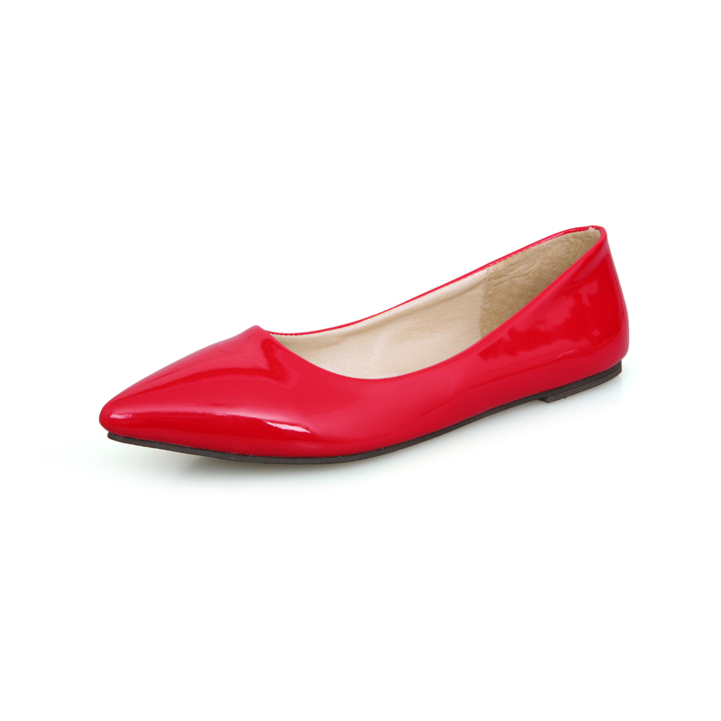 Wholesale New Pointy Flat Shoes Nice Candy Colors Wowen Shoes Clogs For Women Cheap Shoes Online ...