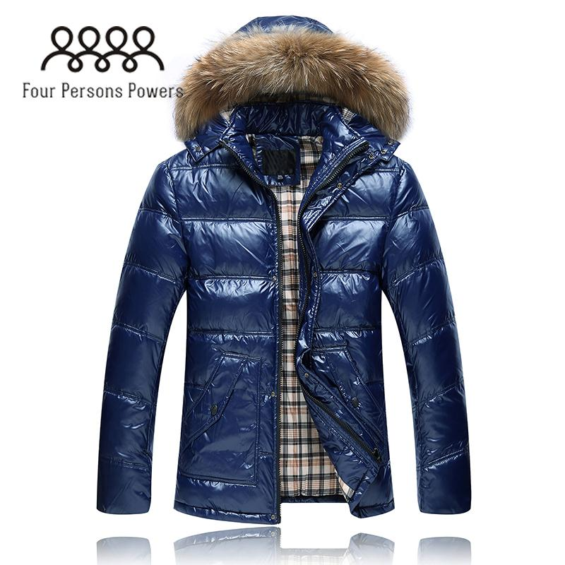 FPP DC402 New Free Shipping Fashion Thickening Down Warm Coat Winter Men Medium Long Men s