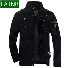 Men Military Army jackets plus size 6XL Brand 2016 Hot cost outerwear sports embroidery mens jacket for aeronautica militare(China (Mainland))