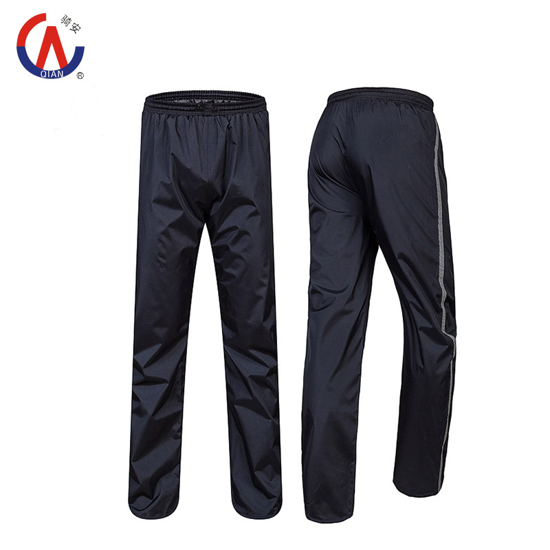 2015 New Double Layer Thicker Outdoor Waterproof Windbreak Motorcycle Bicycle Raincoats Ride Rain Pants High Quality(China (Mainland))