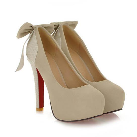 Aliexpress.com : Buy New 2015 Sexy Round Toe Platform Red Bottom ...