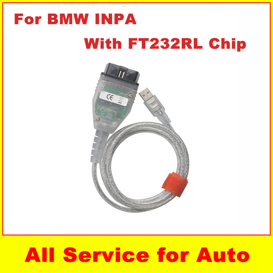 Best Price BMW INPA K+CAN FT232RL Chip USB Cable OBD2 Interface Ediabas - welcome to freyr's store