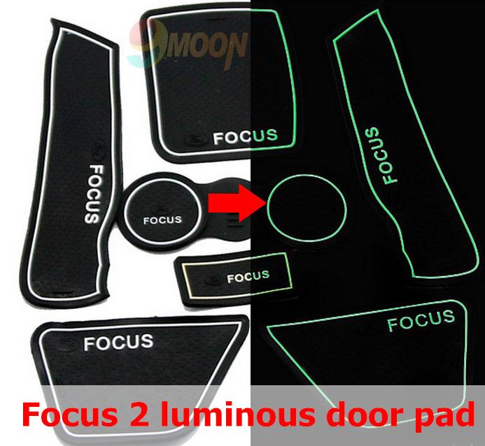FORD focus 2009-2011 2012 2013 luminous 3d Rubber anti slip mat, non-slip door mat 2,auto accessories - China Car Accessories-Decorations-Ornaments store