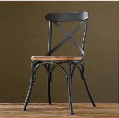 American country to do the old vintage wrought iron chairs Bar furniture dinette casual cafe bar stool(China (Mainland))