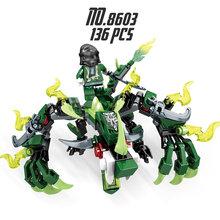 Ninjagoo блоки Джей ния Коул Ллойд Зейн питор мастер строительный блок игрушки совместимый с legoingly Мини фигурки детские подарки(China)