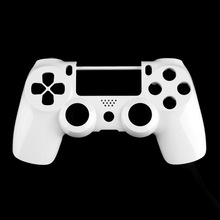 Hot! 3pcs White Front Housing Shell Case Cover Replacement For Sony PlayStation 4 PS4 Wireless Controller Dual Shock 4 New Sale(China (Mainland))
