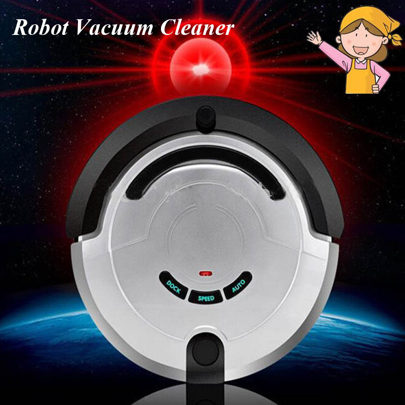 1pc 26W Intelligent Household Ultra-Thin Robot Smart Efficient Automatic Planned Type Vacuum Cleaner KRV209(China (Mainland))