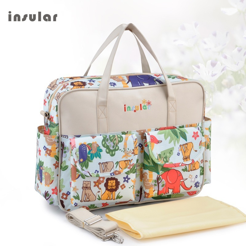 buy insular baby diaper bags for mom baby travel handbags stroller bags for. Black Bedroom Furniture Sets. Home Design Ideas