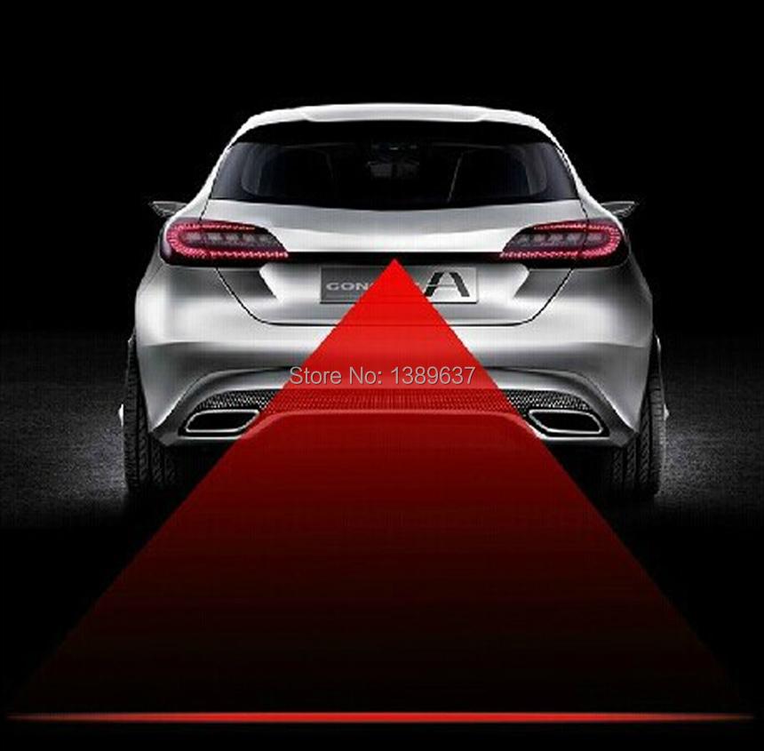 Anti Collision Rear-end Car Laser Tail 12v led car Fog Light Auto Brake auto Parking Lamp Rearing car Warning Light car styling(China (Mainland))