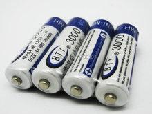 8 шт. AA 3000 mAh 1,2 V перезаряжаемый аккумулятор Ni-MH BTY сотовый BTY3000 Ni-MH AA для RC игрушки камера MP3