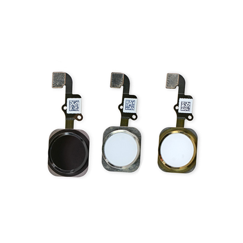 Replacement Home Button Flex Cable Touch ID For iPhone 6Plus 6 Plus 5.5 On Off Sensor Ribbon Key Complete Assembly Spare Part(China (Mainland))