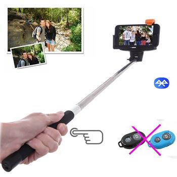 for travel life bluetooth remote extendable selfie stick handheld monopod fo. Black Bedroom Furniture Sets. Home Design Ideas
