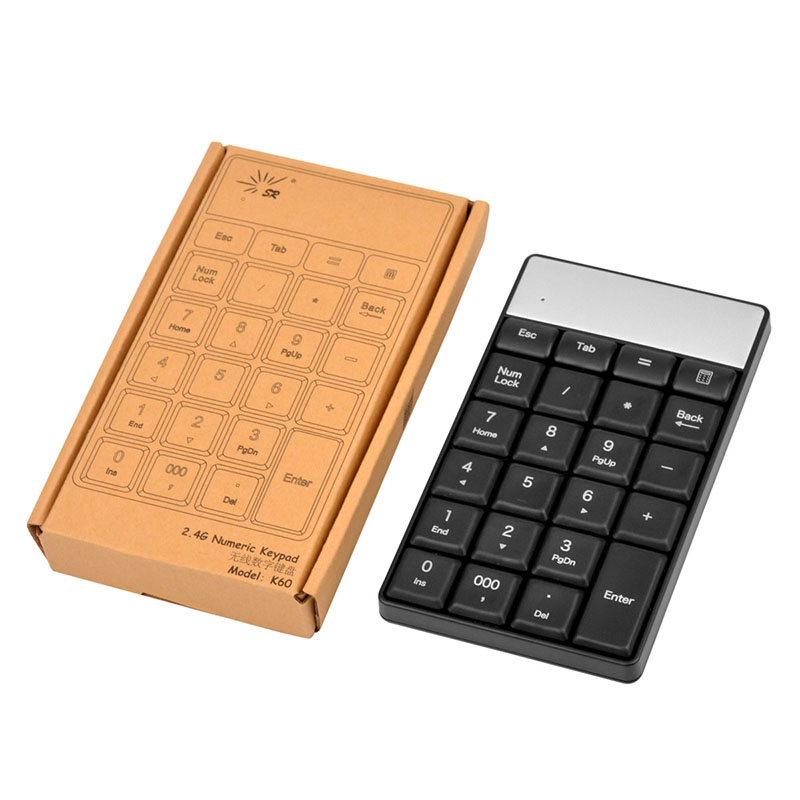 2.4G Wireless Keyboard USB Numeric Keypad 23Keys Mini Keyboard Ultra Slim Number Pad High Quality For Compute PC Laptop -5657(China (Mainland))