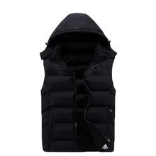 2015 men's sports vest sided wear men's fashion casual cotton vest male thick warm and comfortable vest  Plus Sizes XL-4XL 68(China (Mainland))