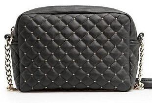 MANGO Bolsas Femininas 2015 Rivet Plaid Women Messenger bags PU Leather Designers Brands Shoulder Bag Ladies clutch desigual(China (Mainland))