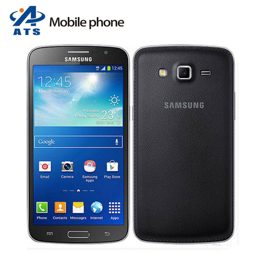 "G7102 Original Samsung Galaxy Grand 2 G7102 Mobile Phone 5.25"" 8MP GPS Dual SIM Quad core mobile phone free shipping(China (Mainland))"