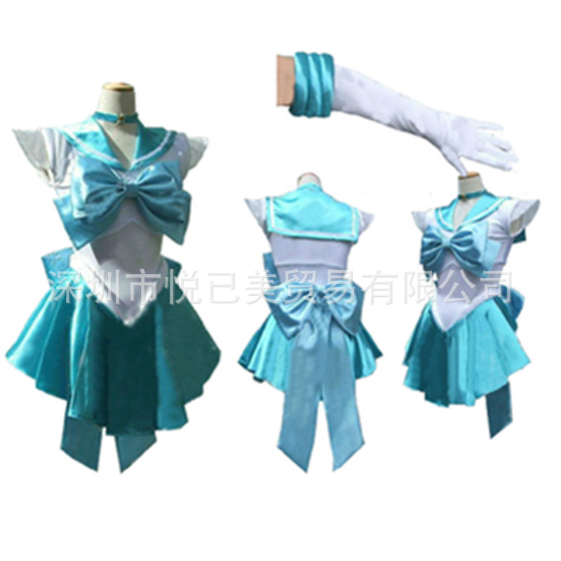 Super Sailor Moon anime Mizuno Ami Venus cosplay halloween woman costume Pretty Cosplay Costume party Customized accepted(China (Mainland))