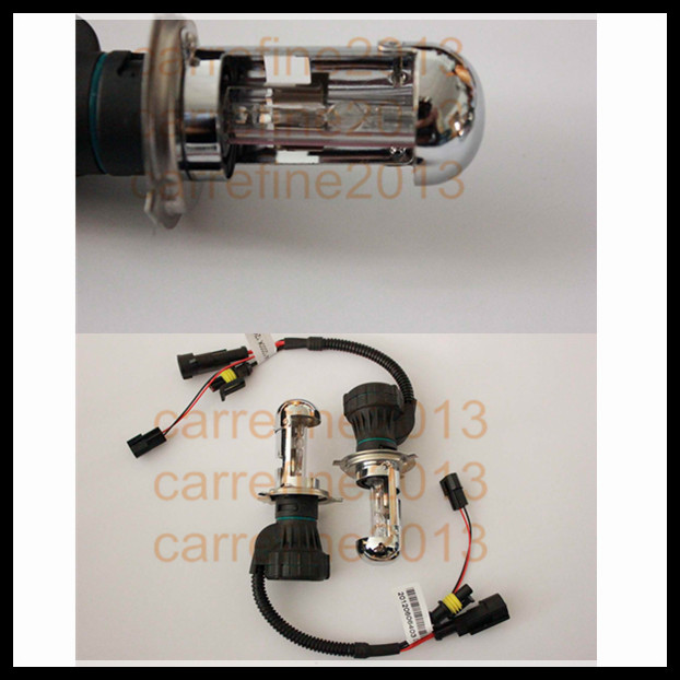 2015 35w 12v hid xenon headlight bulb h4 hid hi lo high/low lamp h4 hid bulbs replacement(China (Mainland))