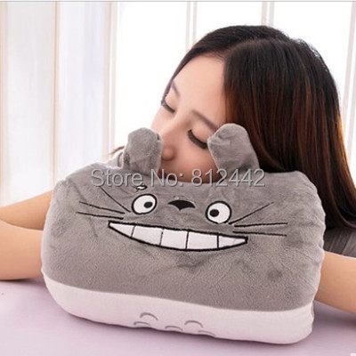 1 Piece 28cm Novelty Girlfriend Birthday Gift Kawaii Cute Plush My Neighbor Totoro Pillow Cushion For Kids Toy brinquedo menina(China (Mainland))