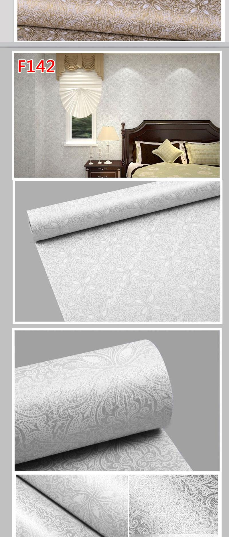 acheter vente en gros fleurs europ enne moderne auto adh sif papier peint pour lliving chambre. Black Bedroom Furniture Sets. Home Design Ideas