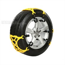 3x TPU Snow Chains Universal Car Suit 165-265mm Tyre Winter Roadway Safety Tire Chains Snow Climbing Mud Ground Anti Slip(China (Mainland))