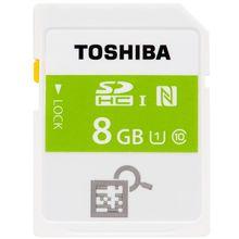 8GB!! Toshiba NFC SDHC SD Flash Memory Card Class 10 UHS-I 1 For Camera Cartao De Memoria New Function Download APP for Fun!