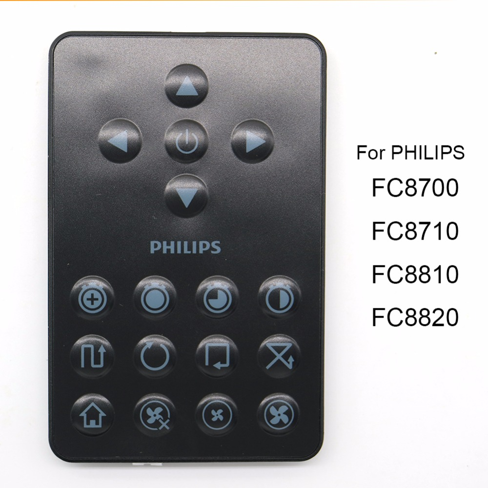 High quality Remote control for Philips Robot FC8820 FC8810 FC8700 FC8710 robot Vacuum Cleaner Parts(China (Mainland))