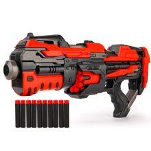 Elektryczny Auto pistolet zabawkowy CS szturmowy Snipe broń Bullet wybuchy pistolet śmieszne odkryty pistolet zabawki z 10 sztuk rzutki Bullet darmo(China)