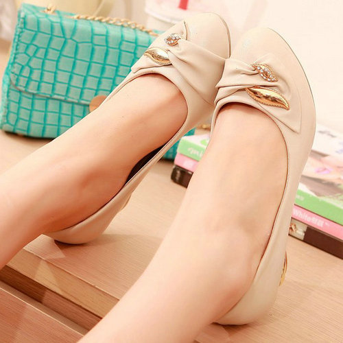 platform high heel shoes woman 2015 round toe charming wedge slip-on simple casual shoes women chunky heel shoes<br><br>Aliexpress