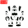 YUSHIXING Electric Robot Toys Musical Space Walking Dancing Robot Rotating Dancer Music Light Toys For Children