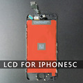 Factory Sale LCD For Iphone 5C Black Screen Display Part Glass Touch Panel Digitizer Assembly Complete