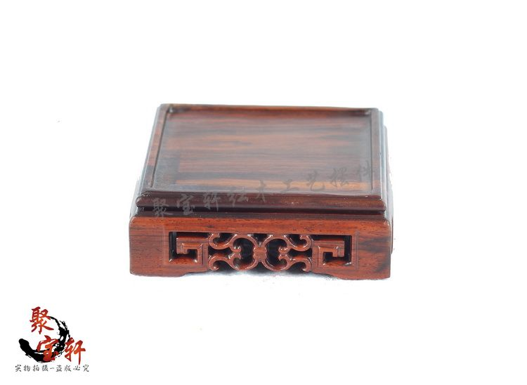 Square base custom solid wood carving rosewood household act the role ofing is tasted Buddha vase handicraft furnishing articles<br><br>Aliexpress