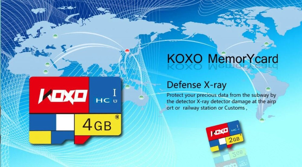50 pcs X KOXO class10 memory card Real 32GB UHS-1 300X micro origial tf sd card flash card pass h2testw for smart phone tablet