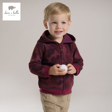 DB2782 dave bella 2015 autumn baby boys hoodies infant clothes toddle outwear boys high quality tops  children coat baby coat(China (Mainland))