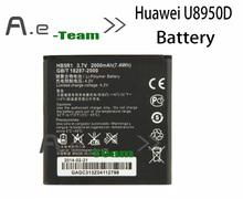 Huawei U8950D аккумулятор 100% оригинальный 2000 мАч HB5R1 аккумулятор для Huawei U8950D G500C G600 C8826D T8950D + бесплатная доставка