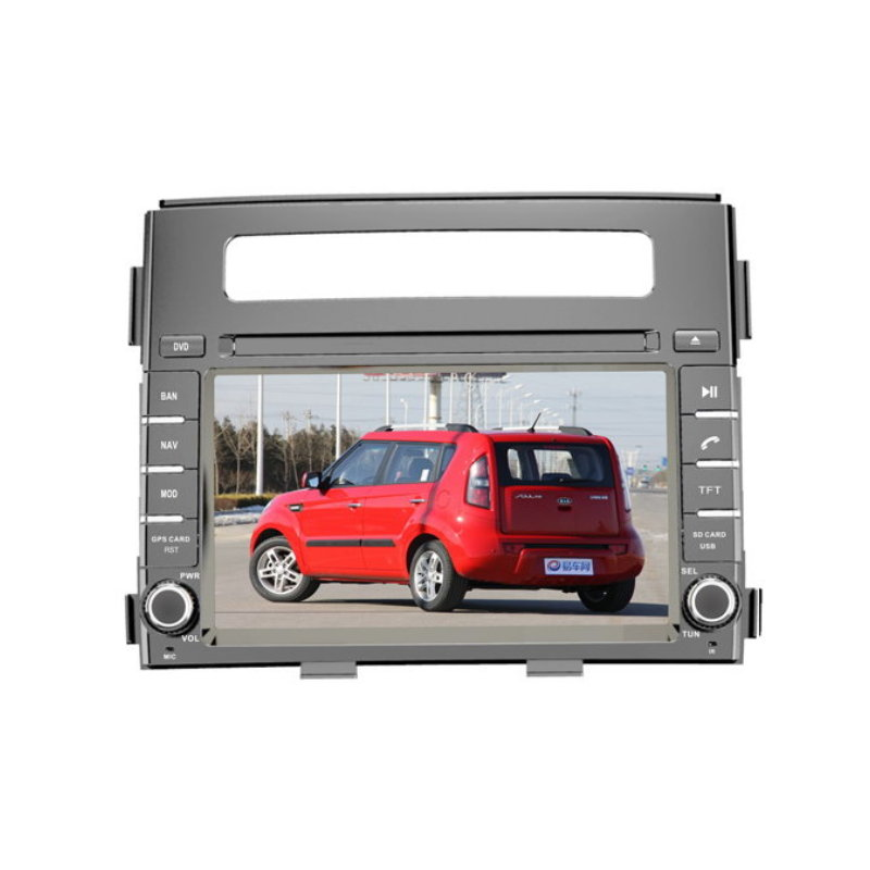 For KIA Soul 2012-2013 - Car DVD Player GPS Navigation Touch Screen Radio Stereo Multimedia System(China (Mainland))