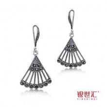 fashion jewelry 925 sterling silver  women's drop earrings(China (Mainland))