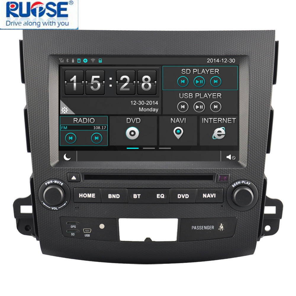Автомобильный DVD плеер OEM ! 8' DVD GPS Outlander 2006/2011mitsubishi Bluetooth автомобильный dvd плеер oem dvd chevrolet cruze 2008 2009 2010 2011 gps bluetooth bt tv