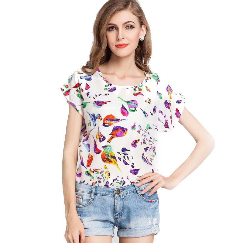 Women'S Plus Size Short Sleeve Blouses 11