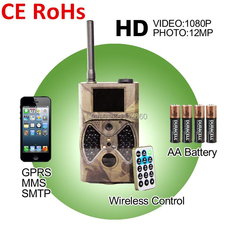 Фотокамера для охоты IME 12Mp 1080p HD GSM GPRS MMS 940 wireles IME-HC300(GPRS) 2pcs lot sim900a gsm gprs module base station positioning mms version dual tone multi frequency