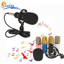 Microphone Professional Studio Microphone BM700 Wired Microphone Sound Recording Condenser Karaoke Mic Stand Holder for computer